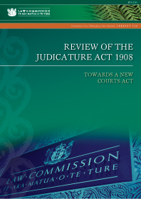 Review of the Judicature Act 1908: Towards a new Courts Act - Report 126 - Cover